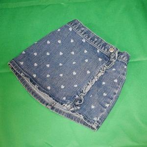 Old Navy Denim Toddler Skirt Size 4T